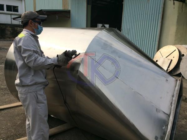 Gia công bồn Inox cho nhà máy thức ăn gia súc